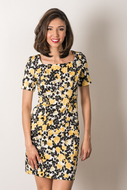 Lucy Dress (Yellow Rose)