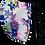 Thumbnail: Purple Floral Single Elastic Reversible Mask
