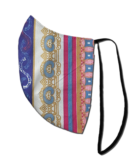 Golden Gypsy Single Elastic Reversible Mask