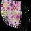 Thumbnail: Springtime Floral Single Elastic Reversible Mask