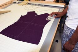 Pattern being digitized