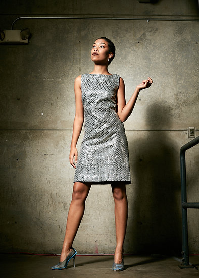 Sequin Mod Dress