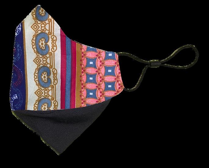 Golden Gypsy Ear Loop Reversible Mask