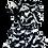 Thumbnail: Zebra Fringe Scarf & Ear Loop Mask Set