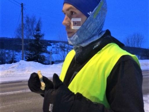 Aleksander løper fra Gjøvik til Oslo til inntekt for flyktningbarn