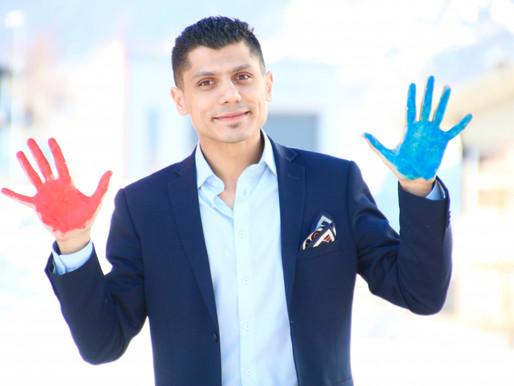 Ber om hjelp til å gi flyktningbarn farge i tilværelsen