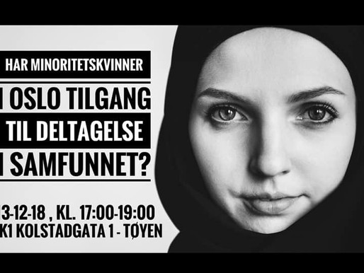 Har minoritetskvinner i Oslo tilgang til deltagelse i samfunnet?