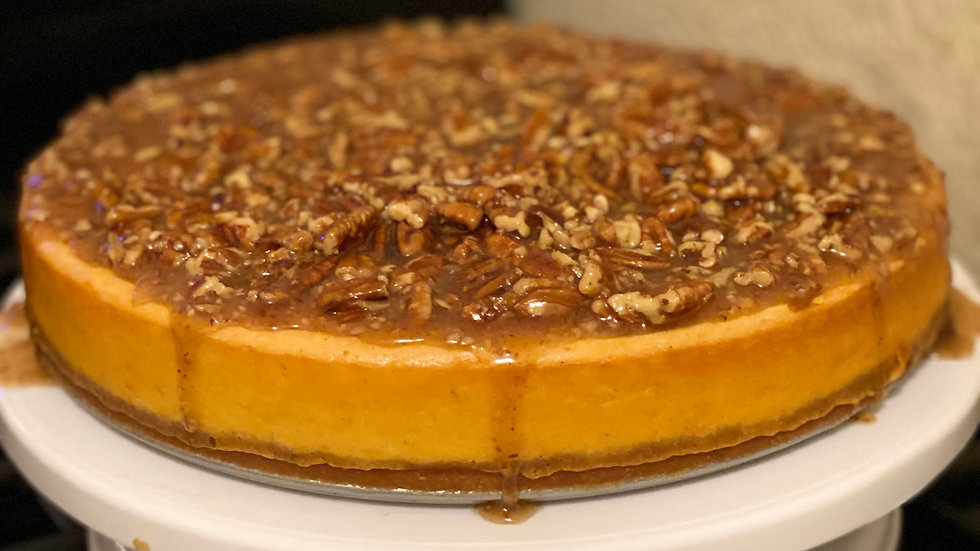 Sweet Potato Cheesecake-10 in.