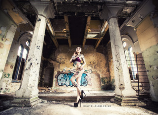 Shooting with Izabella Rae Jaxx