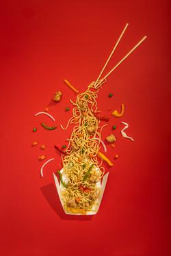 Noodles Flatlay