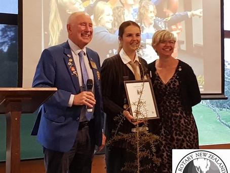 Rotary Young Totara Award