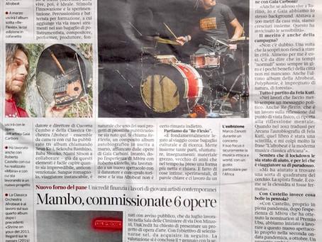 Intervista sul Corriere del 20/1/21