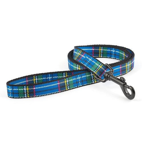 Ancol Blue Tartan Lead
