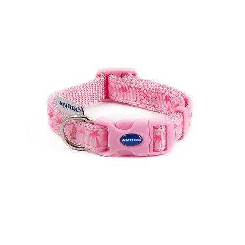 Ancol Flamingo Dog Collar