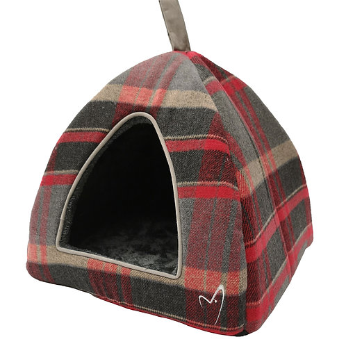 Camden Pyramid Dog/Cat/Puppy Igloo