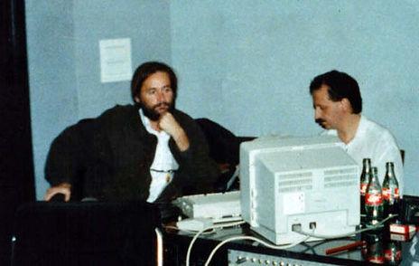 Chano Piñeiro con Carlos Ferrant