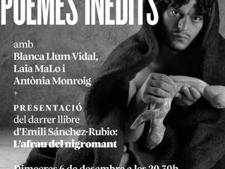 "Dimecres 6: Emili Sánchez-Rubio presenta ""L'afrau del nigromant"""