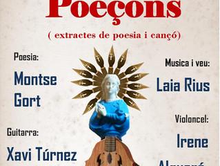 Poesia: 21 feb. 20,30 POEÇONS. extractes de poesia i cançó