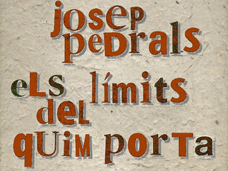 POESIA:Dijous 20, Pedrals i Els límits del Quim Porta