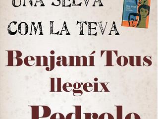 Poesia: dimecres 23, Benjamí Tous llegeix Pedrolo