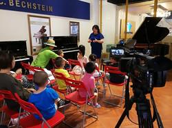 Qingdao TV Intensive Piano Training
