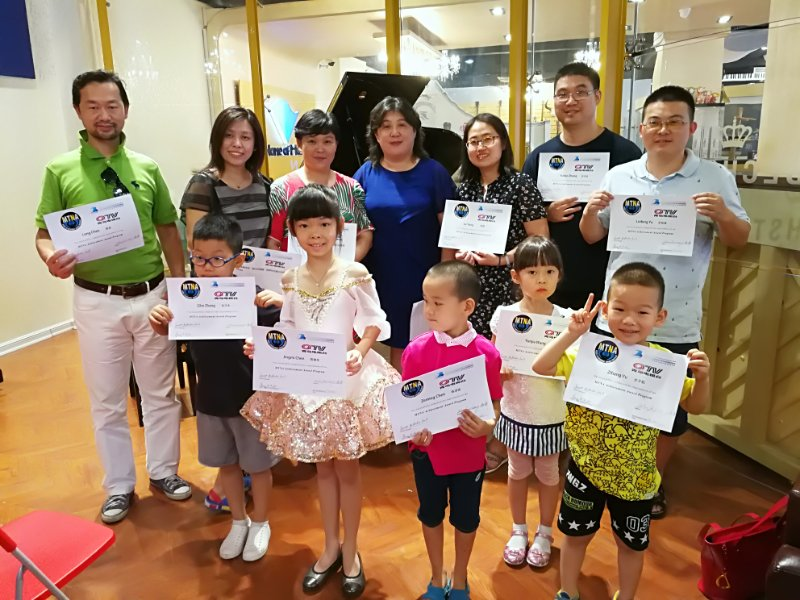 Qingdao TV Intensive Piano Training