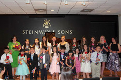 Group Photo at Steinway and Sons