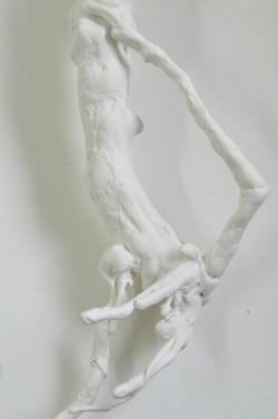 porcelaine-papier sur écorce