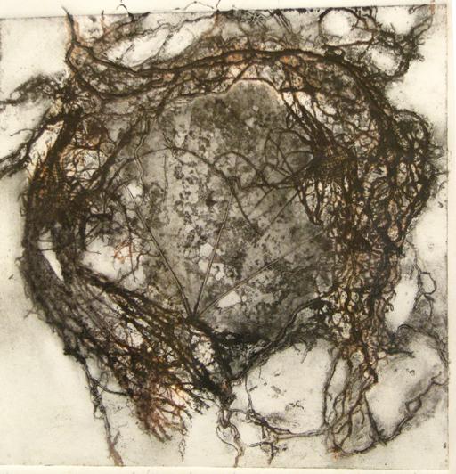 Terra Incognita. 40 x 40 cm