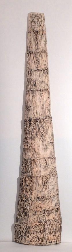 Peau de papier. 185 x 30 x 0.10 cm