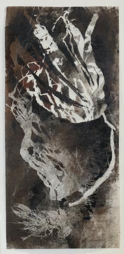 gravure monotype. 50 x 100 cm.