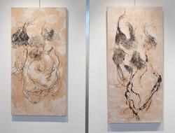 Galerie L'Essor, Suisse. Juillet 2016