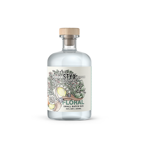 Limbic Series Floral Gin 500ml