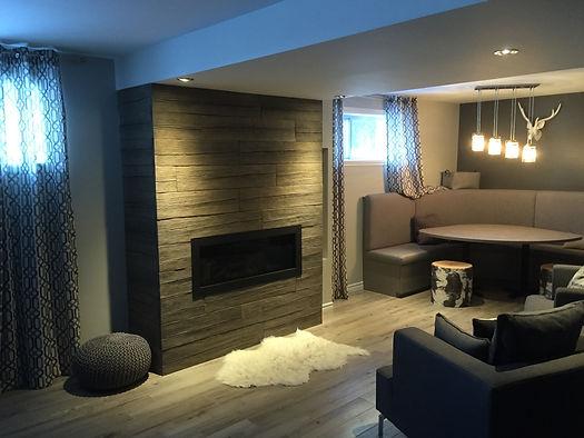 Rénovation de sous-sol | Basement renovation