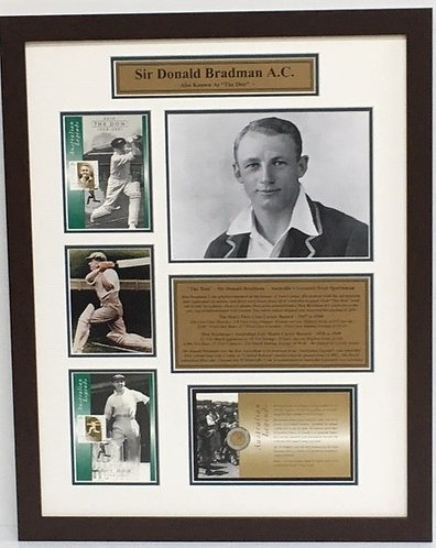 Bradman Tribute Stamps and Coin  Order Code CR25