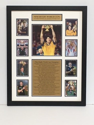 "Nine World Cups - Australia 1999  Order Code ""RU 33"""