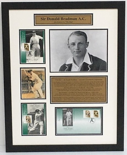 Bradman Limited Release Stamps - Order Code CR26