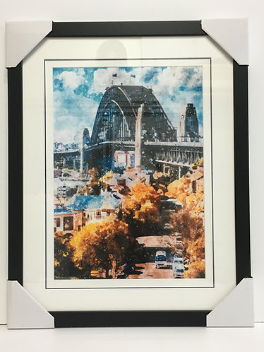 Harbour Bridge Art ~ OG-02