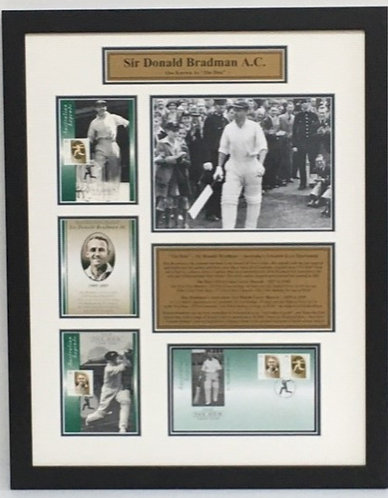 Bradman's Commemorative Stamps - Order Code CR27