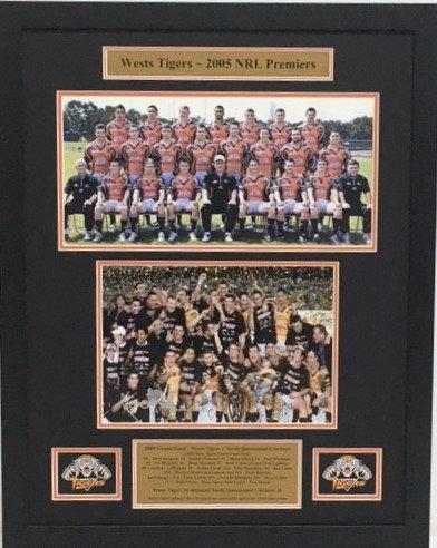West Tigers - NRL Premiers in 2005   #21010RL