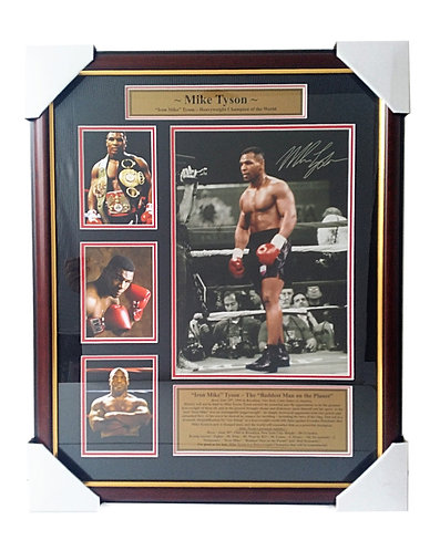 "Mike Tyson ""Iron Mike""  ~  B0-02"