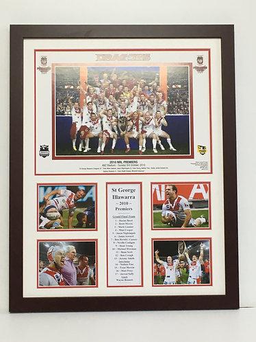 """St George 2010 NRL Premiers  Order Code """"RL 42"""""""