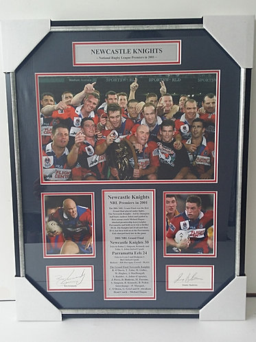 Newcastle Knights 2001 ~ RL-15