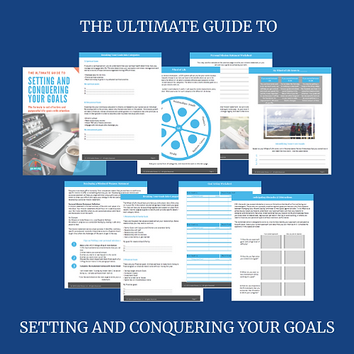 The Ultimate Goals Setting Guide with Bonuses