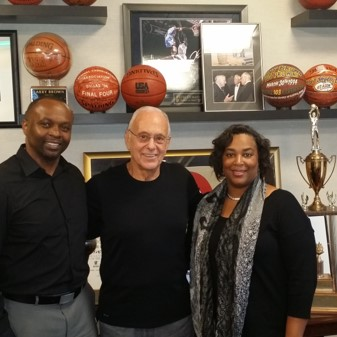 NBA Legendary Coach Jerry Brown