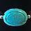 Thumbnail: Carved Turquoise Howlite Bracelet