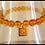 Thumbnail: Gemstone Om Tag Bracelet