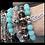 Thumbnail: Amazonite & Lava Bracelet