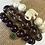 Thumbnail: Howlite Elephant Bracelet