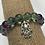 Thumbnail: Rainbow Fluorite Hamsa Bracelet